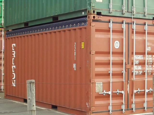 Used 20ft open top container for sale