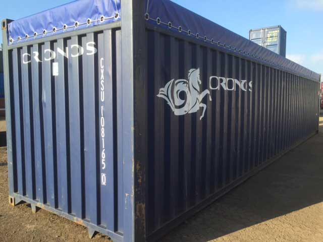 Used 40ft open top container for sale