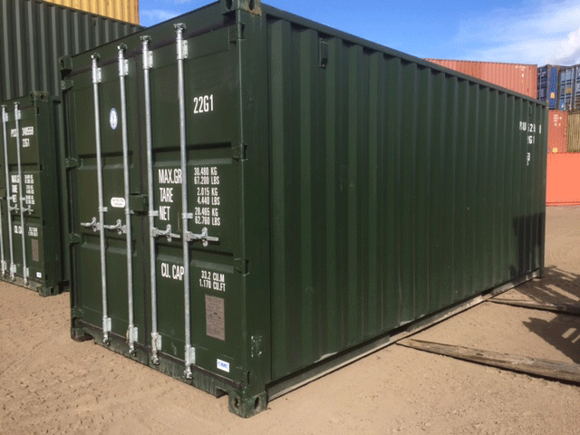 Used 20ft shipping container for sale